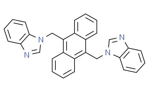 9,10-bis((1H-benzo[d]imidazol-1-yl)methyl)anthracene