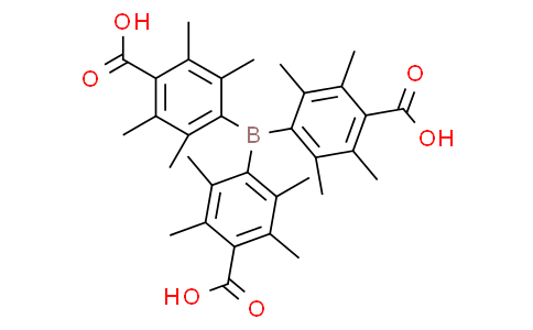 "4,4',4""-boranetriyltris(2,3,5,6-tetramethylbenzoic acid)"
