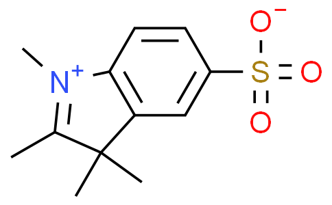 1,2,3,3-tetramethyl-3H-indol-1-ium-5-sulfonate