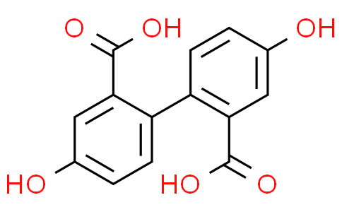 4,4'-dihydroxy-[1,1'-biphenyl]-2,2'-dicarboxylic acid
