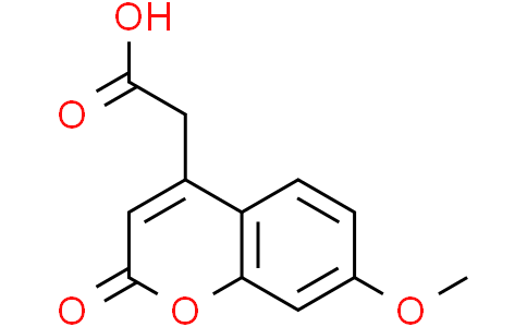 2-(7-Methoxy-2-oxo-2H-chromen-4-yl)acetic acid