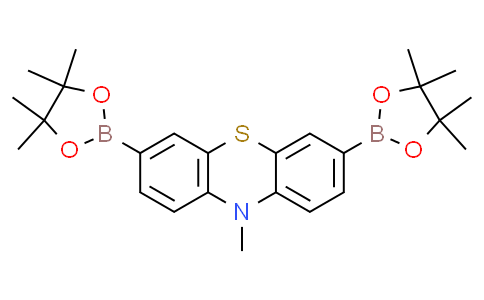 10-methyl-3,7-bis(4,4,5,5-tetramethyl-1,3,2-dioxaborolan-2-yl)-10H-phenothiazine