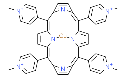 5,10,15,20-tetra (1-methyl-4-pyridyl) porphyrin copper
