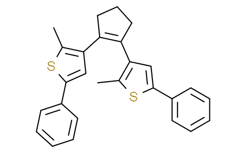1,2-bis(2-methyl-5-phenylthiophen-3-yl)cyclopent-1-ene