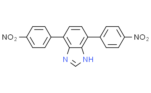 4,7-bis(4-nitrophenyl)-1H-benzo[d]imidazole